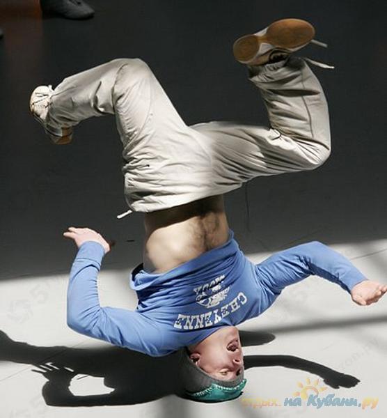 Ireland naked break dance